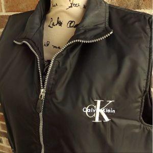 CK Calvin Klein Nylon Windbreaker Vest